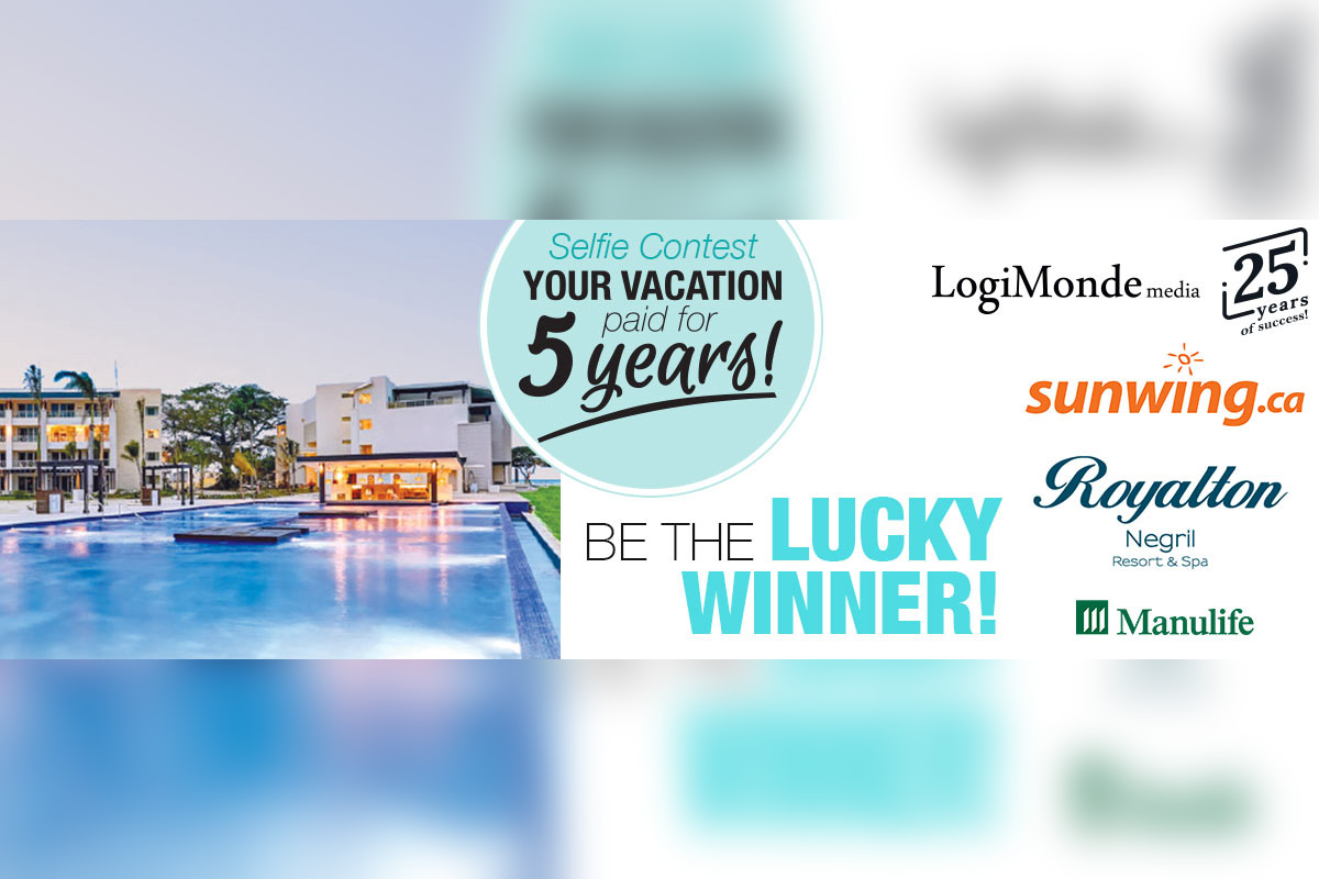 Win five years of vacations with your next selfie!