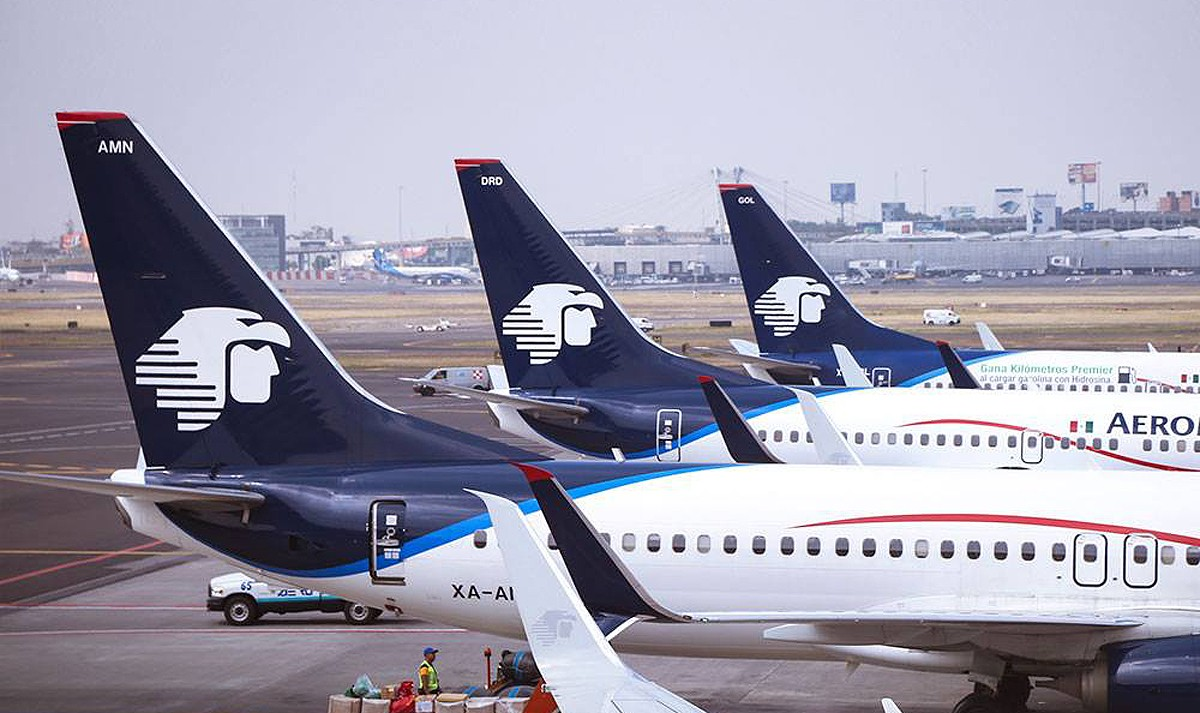 Aeromexico's YYC-MEX service takes flight
