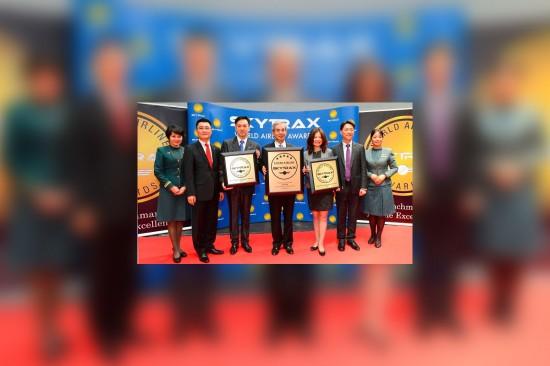 EVA Air soars in Skytrax awards