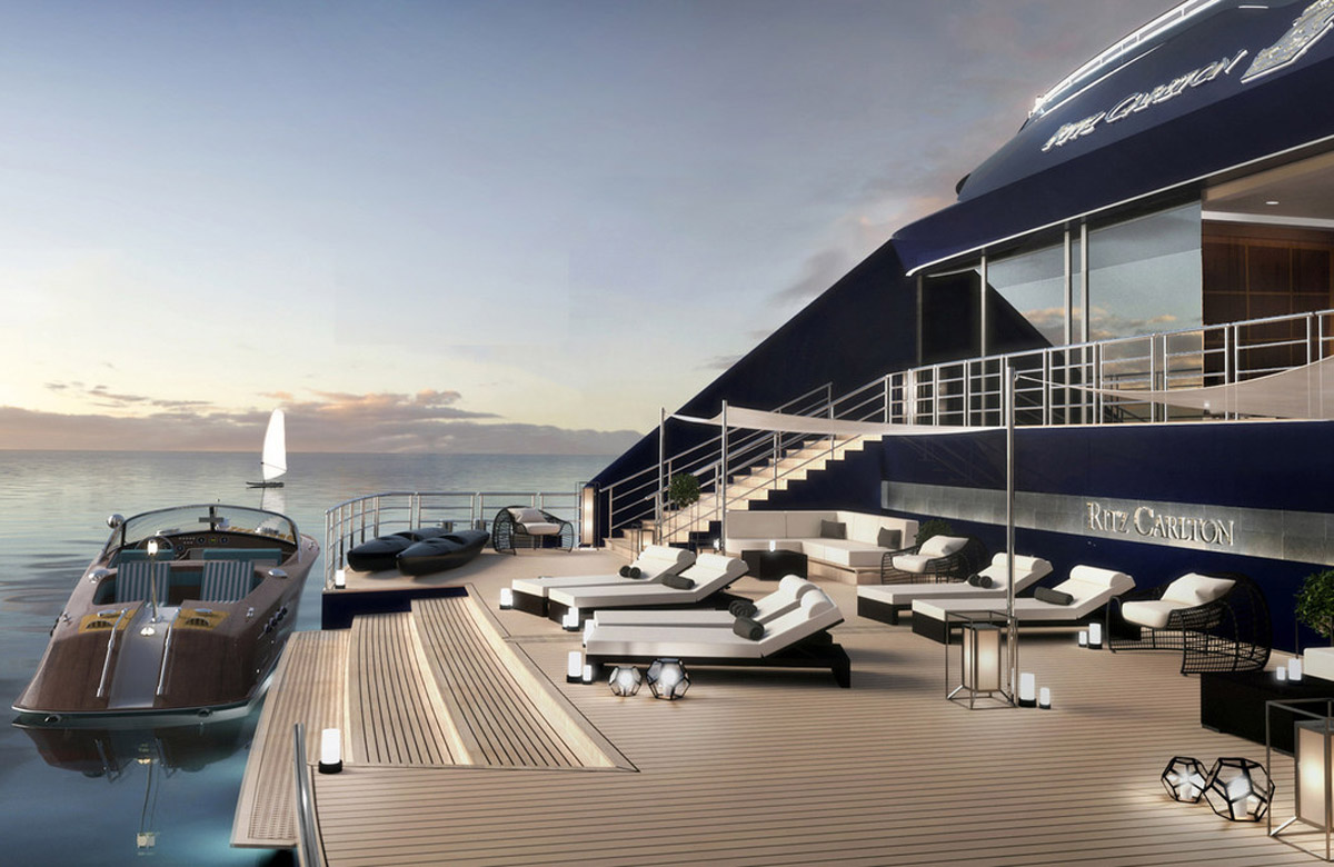 Ritz-Carlton charts a course to luxury yachting