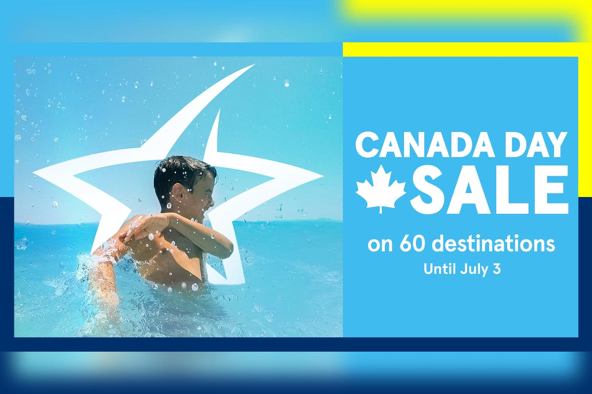 Save with Air Transat's Canada Day sale