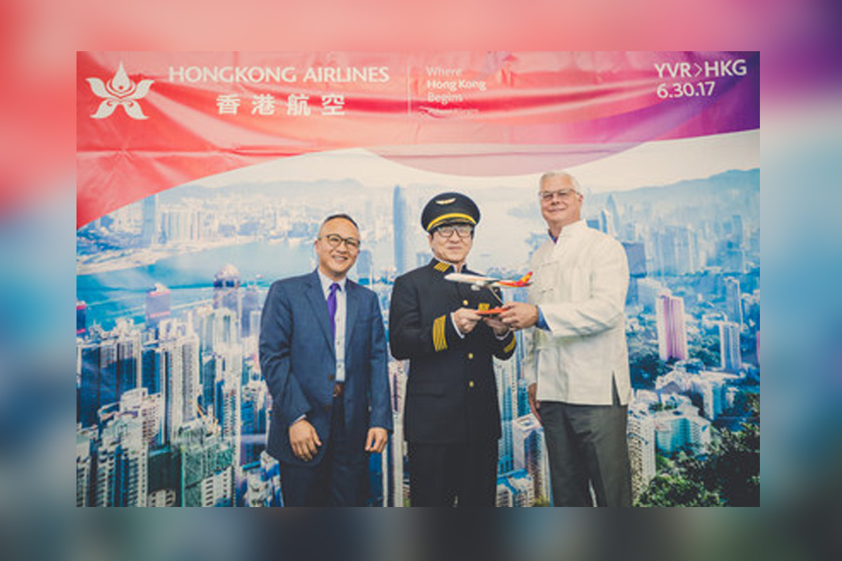 YVR welcomes Hong Kong Airlines