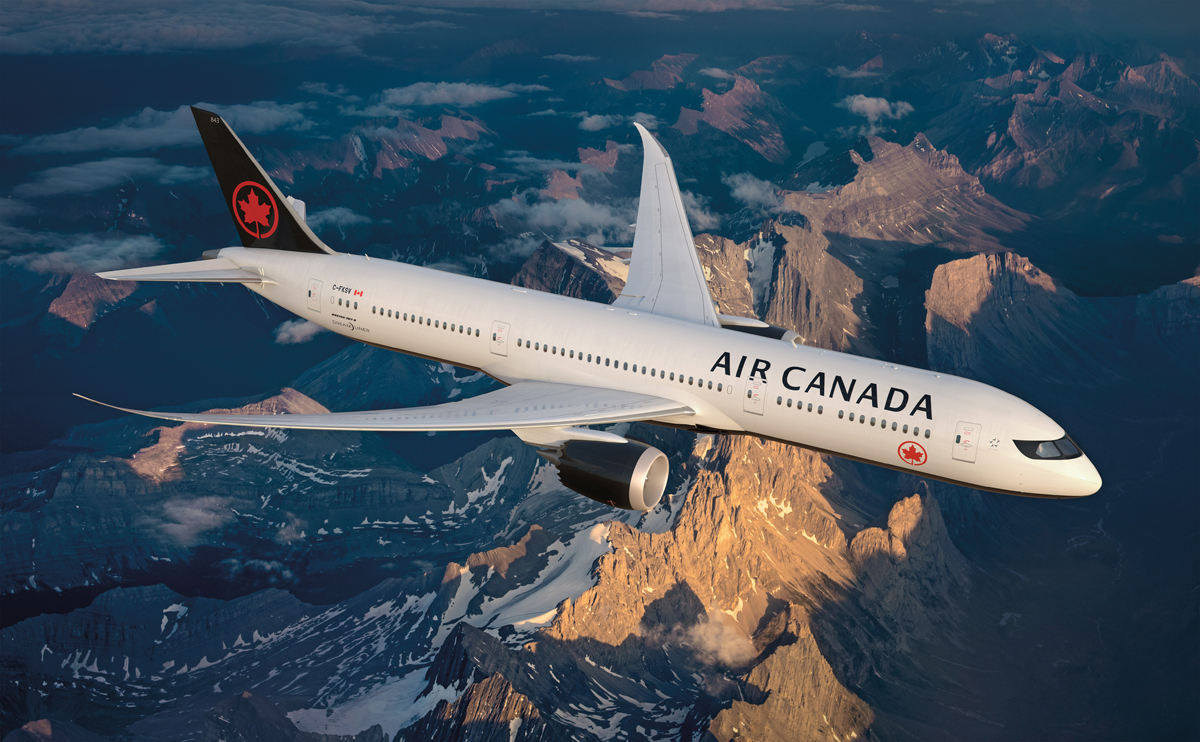 Air Canada sets new passenger record