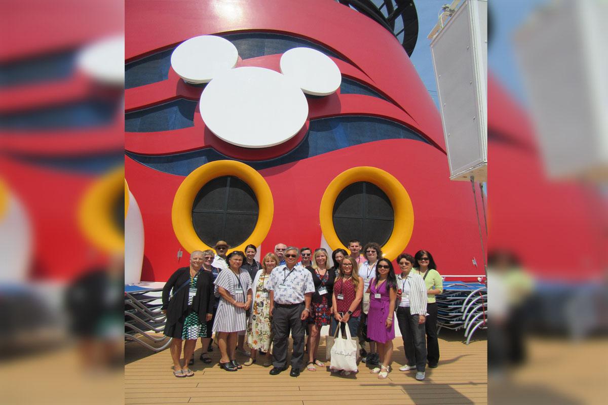 Refurbished Disney Wonder delights agents in Vancouver