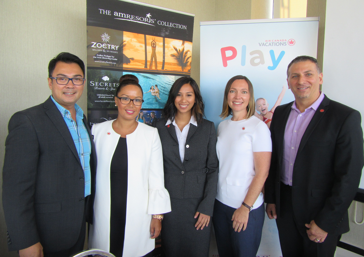 Air Canada Vacations & AMResorts host VIP luncheon in Vancouver