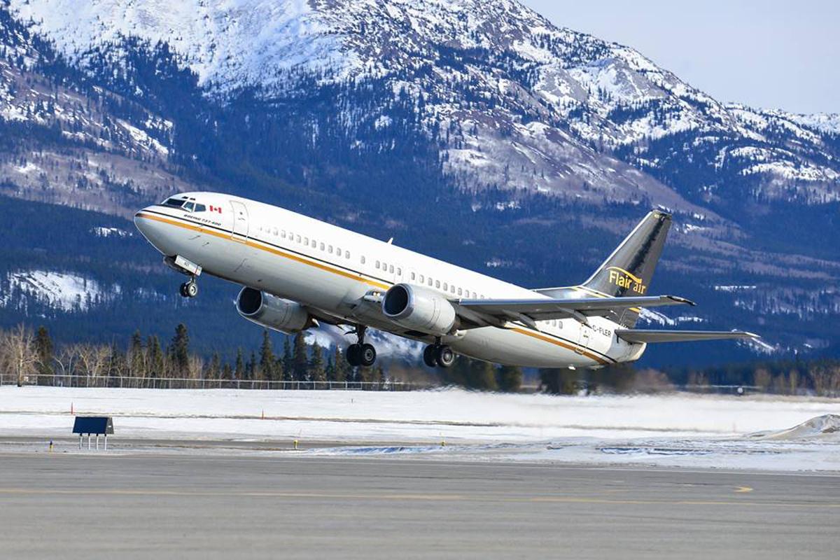 NewLeaf renamed Flair Airlines