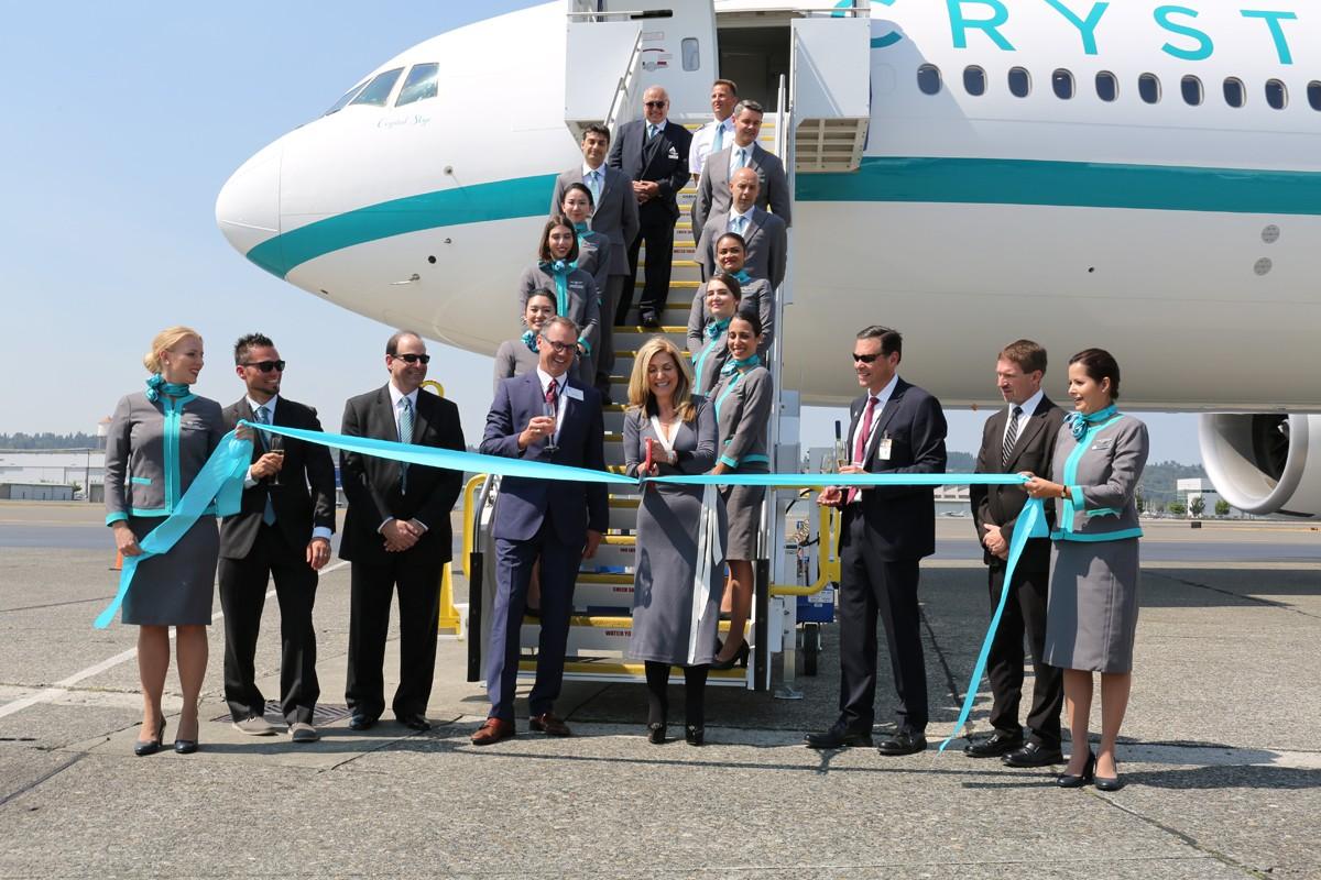 Crystal Skye welcomed to Crystal AirCruises fleet
