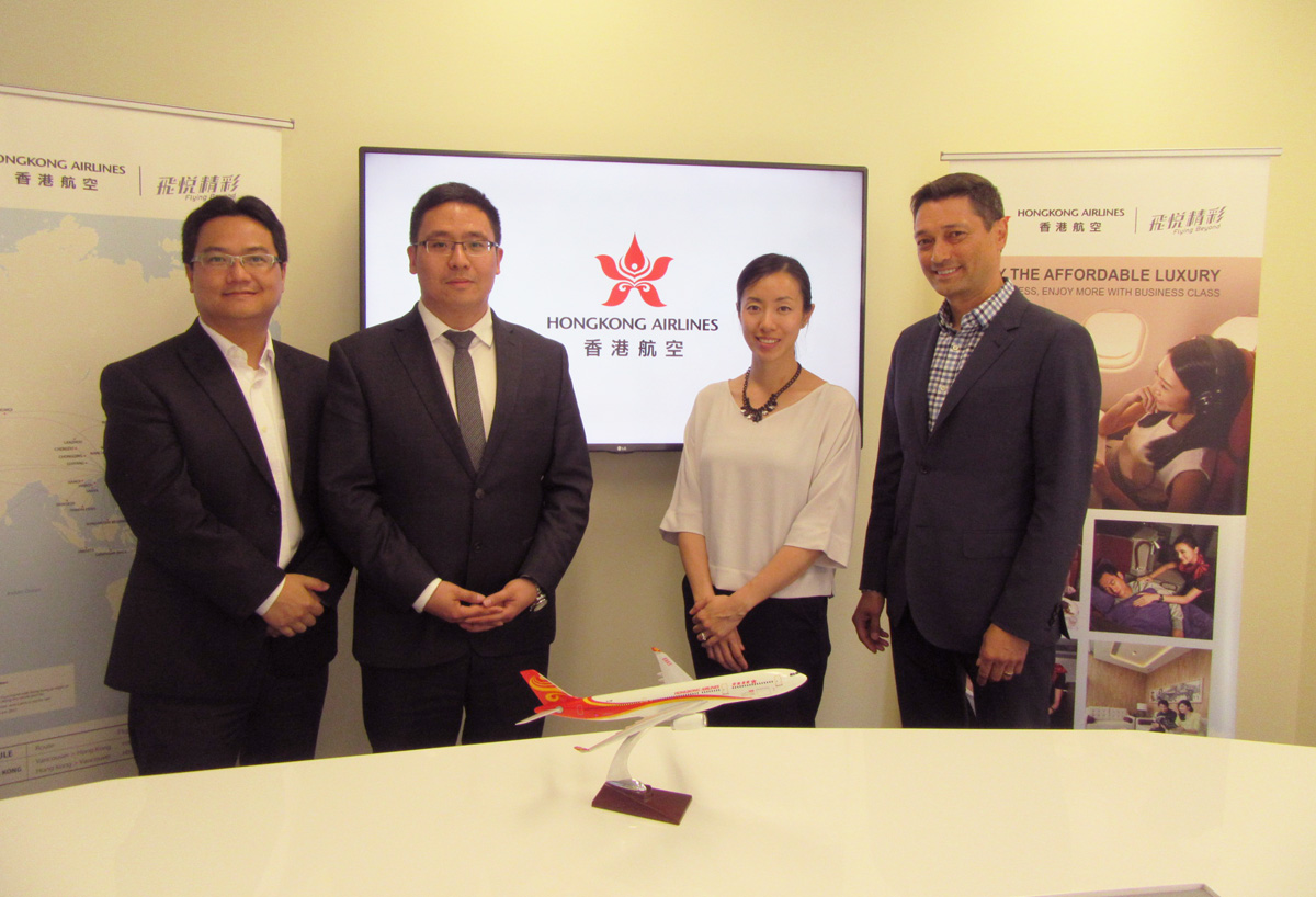 Hong Kong Airlines lands in Vancouver