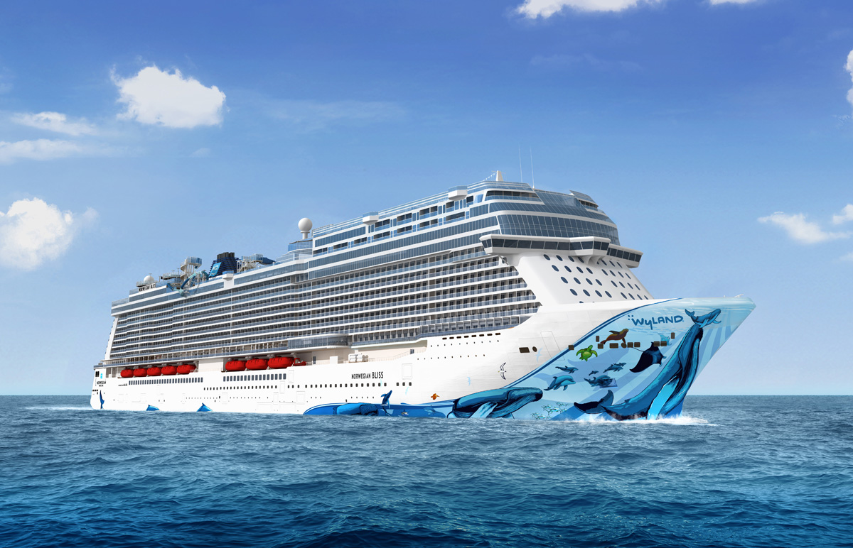 Agents can win an NCL Bliss cruise