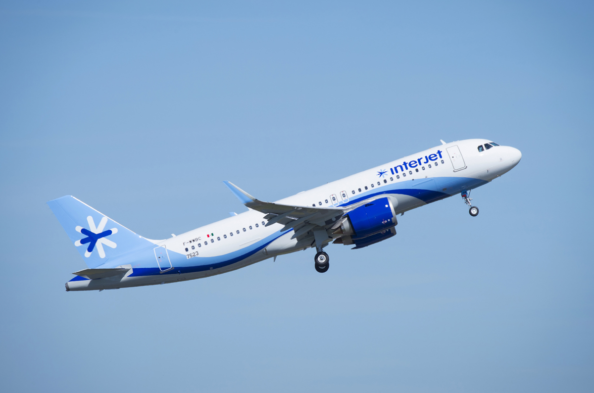 Interjet adds MEX, CUN from YVR