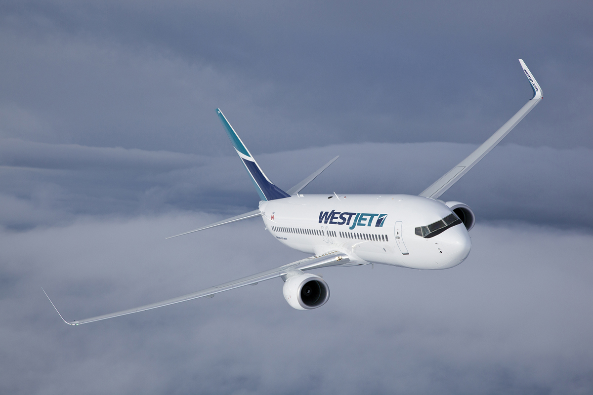 WestJet reports highest ever load factor