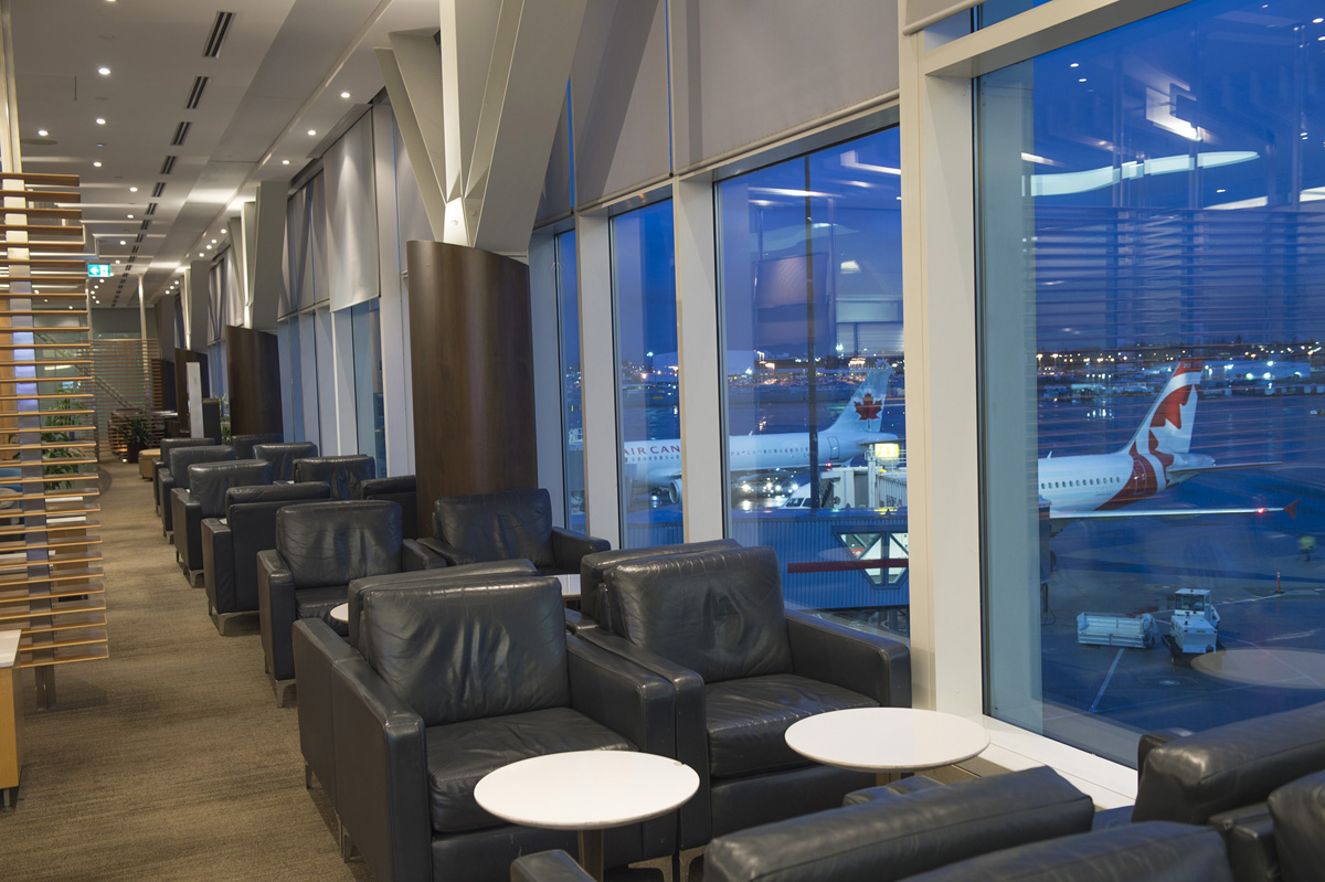 AC opens renovated Maple Leaf Lounge at YVR