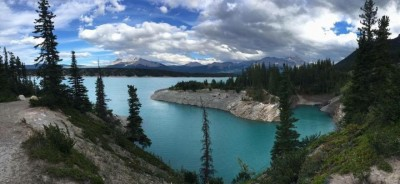 Stunning Views at Abraham Lake