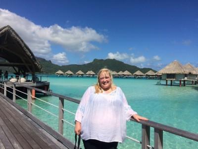 Me at the Le Meridien Bora Bora