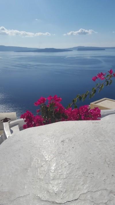 Colourful Santorini