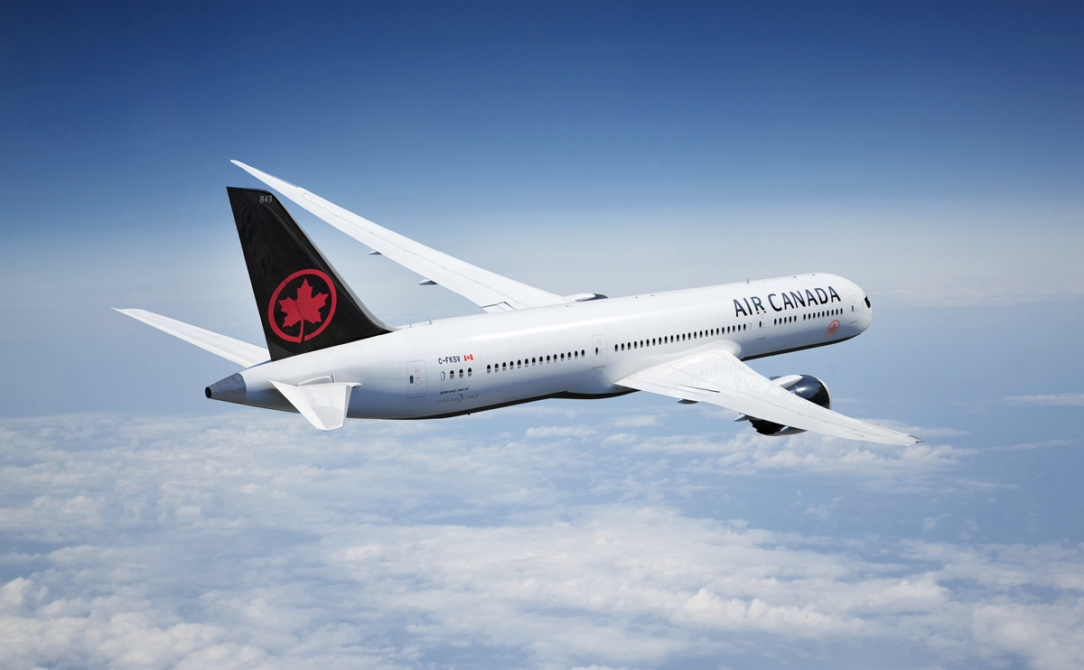 Air Canada posts record gains in Q3