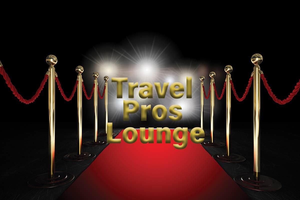 Travel Pros Lounge - now open!