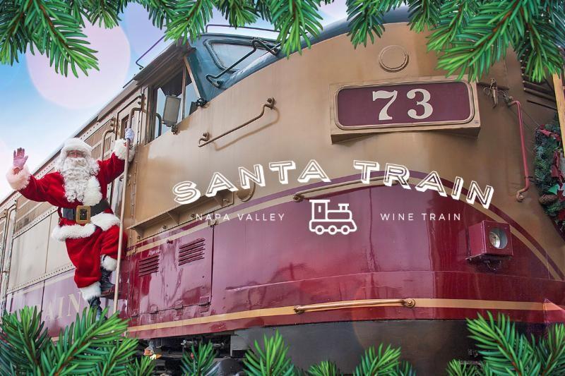 Napa Valley Santa Train returns for the holidays