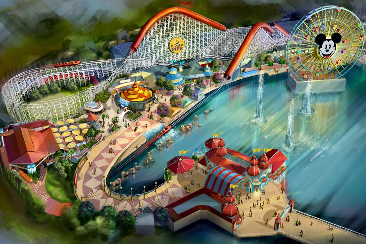 Pixar Pier coming to Disneyland next summer