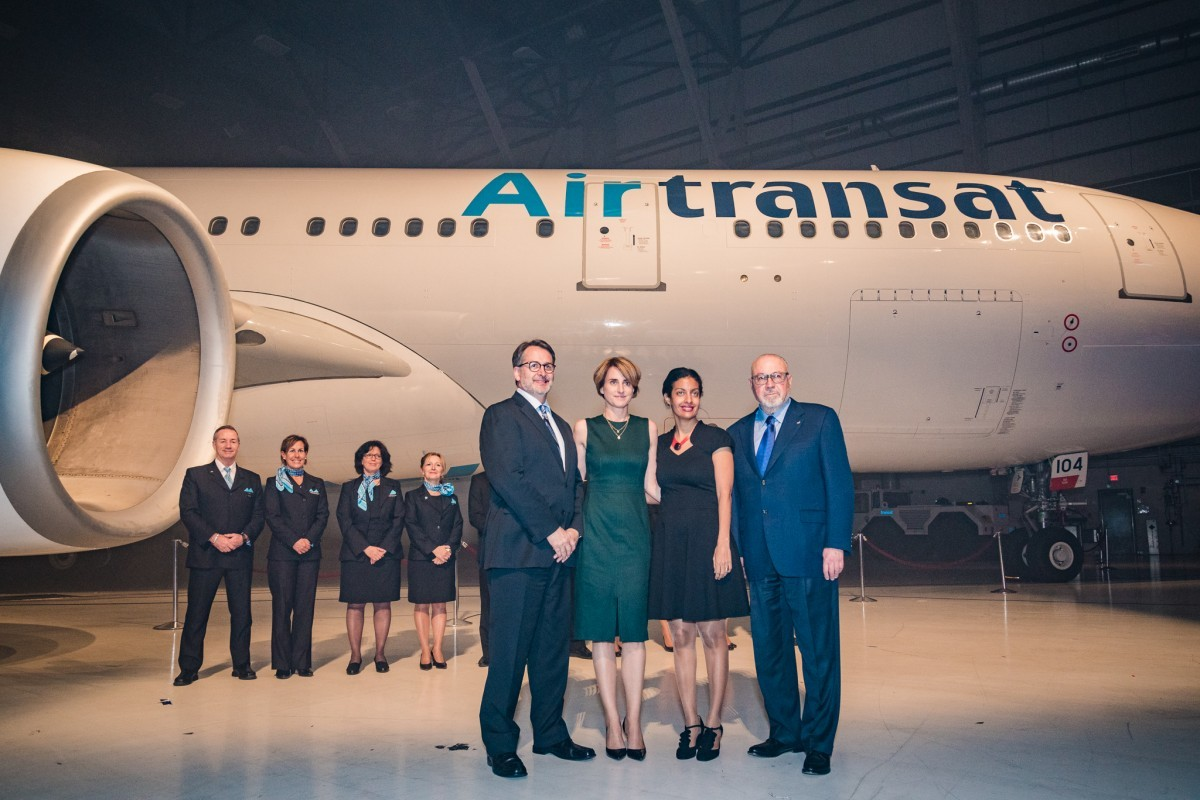 Transat's 30th anniversary marked with new livery & hotel group