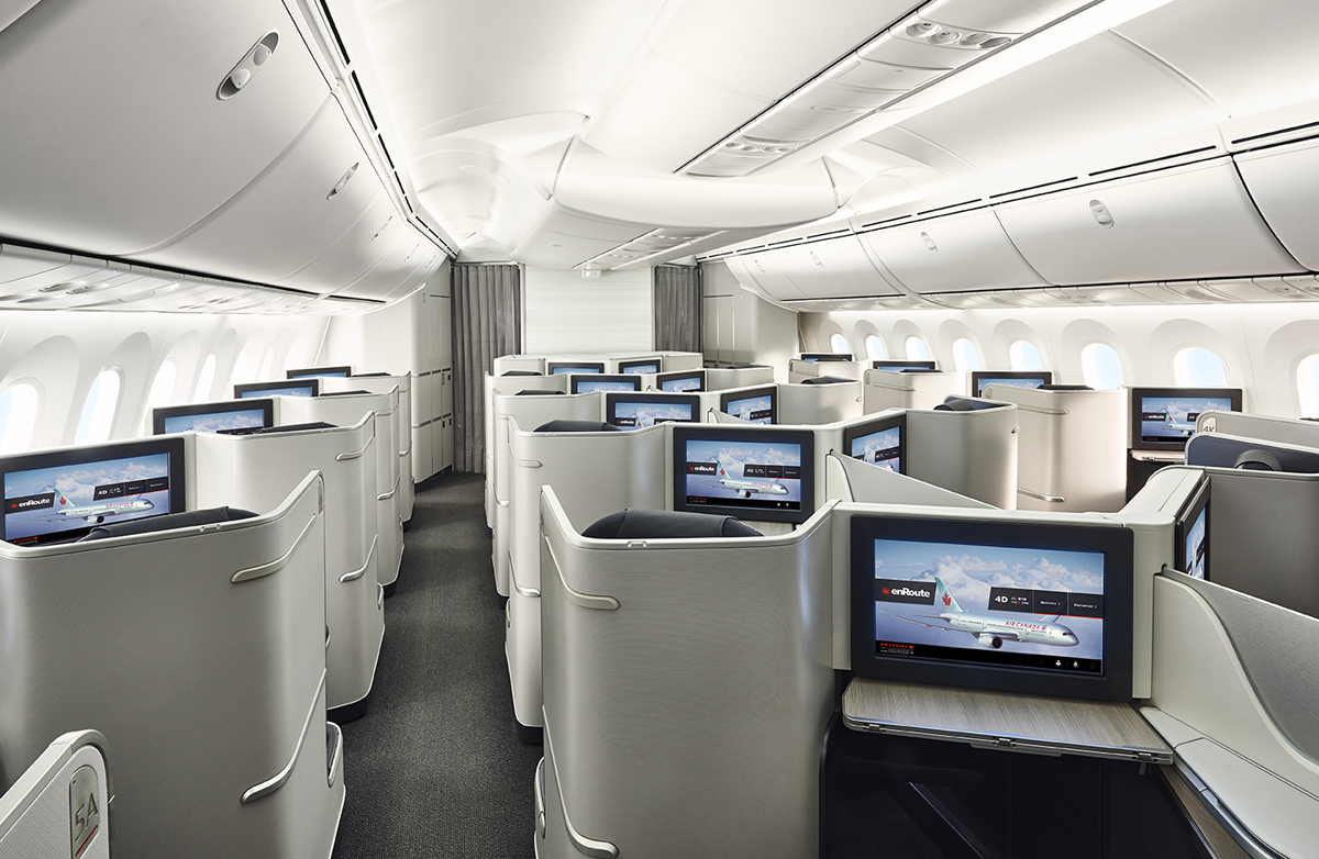 Check out Air Canada's B787 with this VR experience