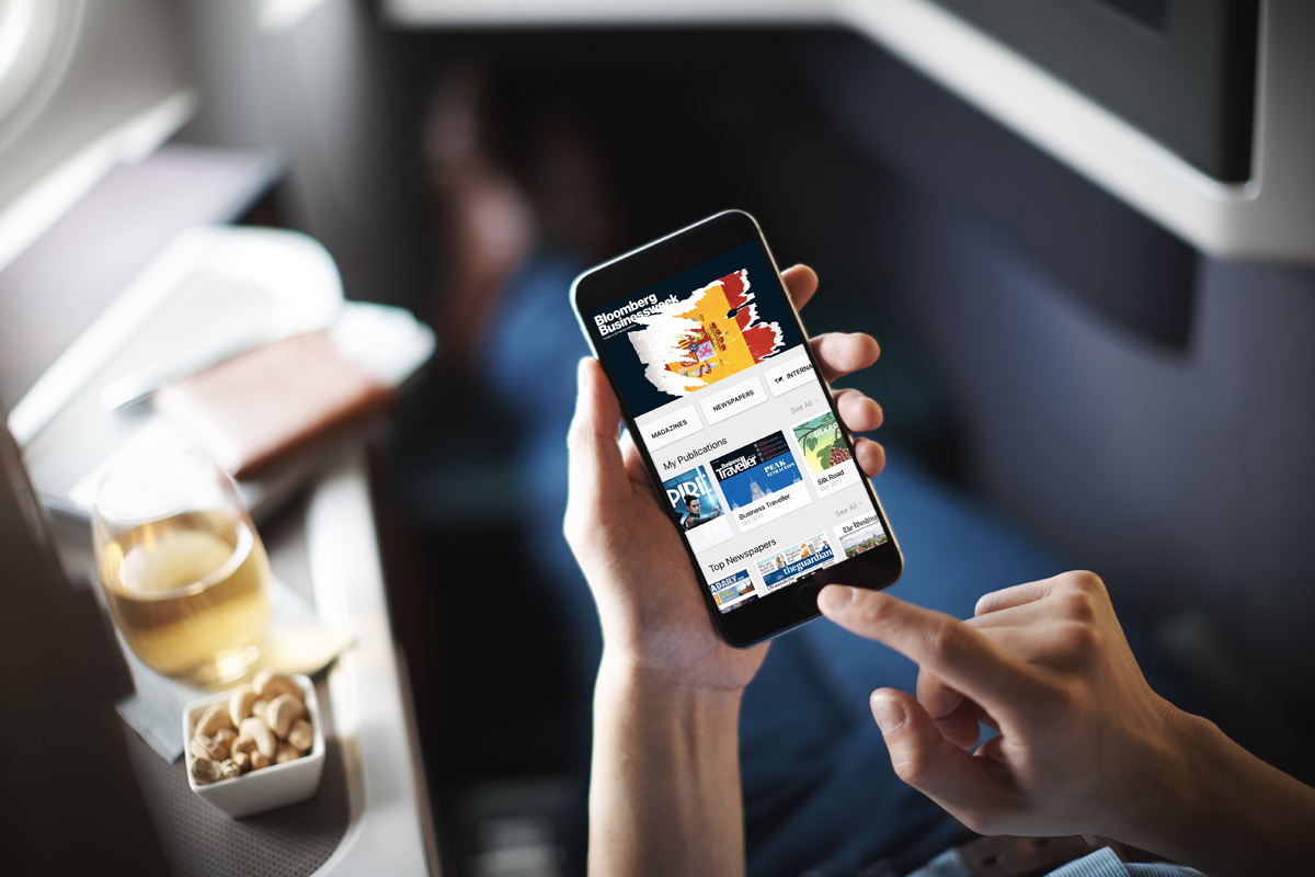 Cathay Pacific and PressReader partner
