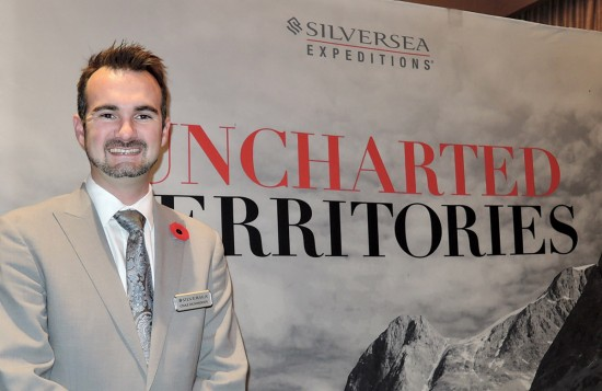 Silversea cruises into Vancouver for agents
