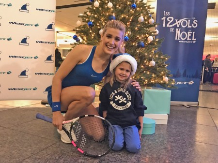 WestJet's 12 Flights of Christmas stops in Calgary