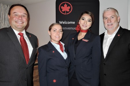 Air Canada kicks off the holidays in Vancouver