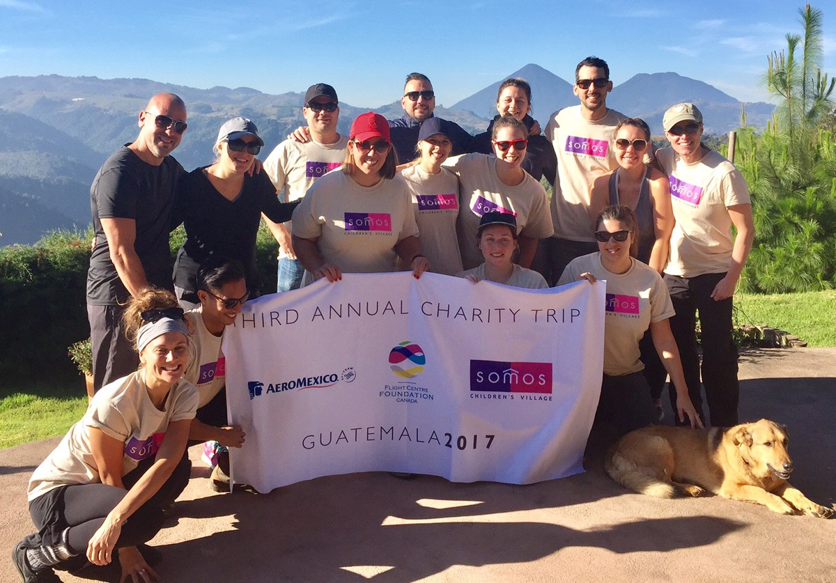 Flight Centre gives back in Guatemala