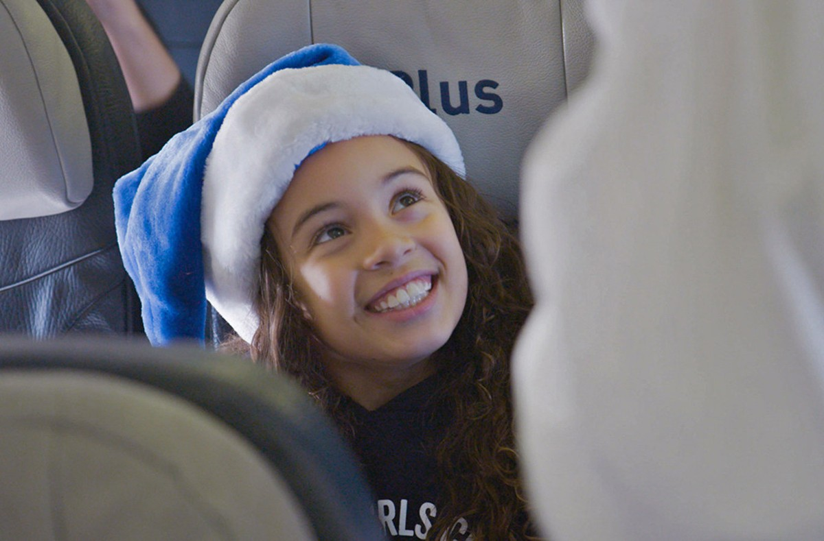 WestJet's latest holiday video takes 'Flight'