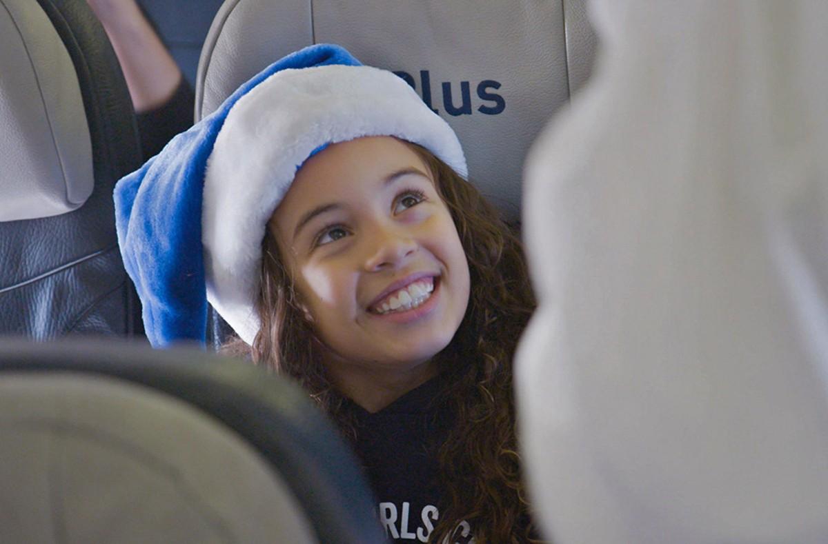 WestJet's latest holiday video takes 'Flight'