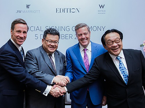 Marriott & YTL Hotels to open 4 new properties across Asia