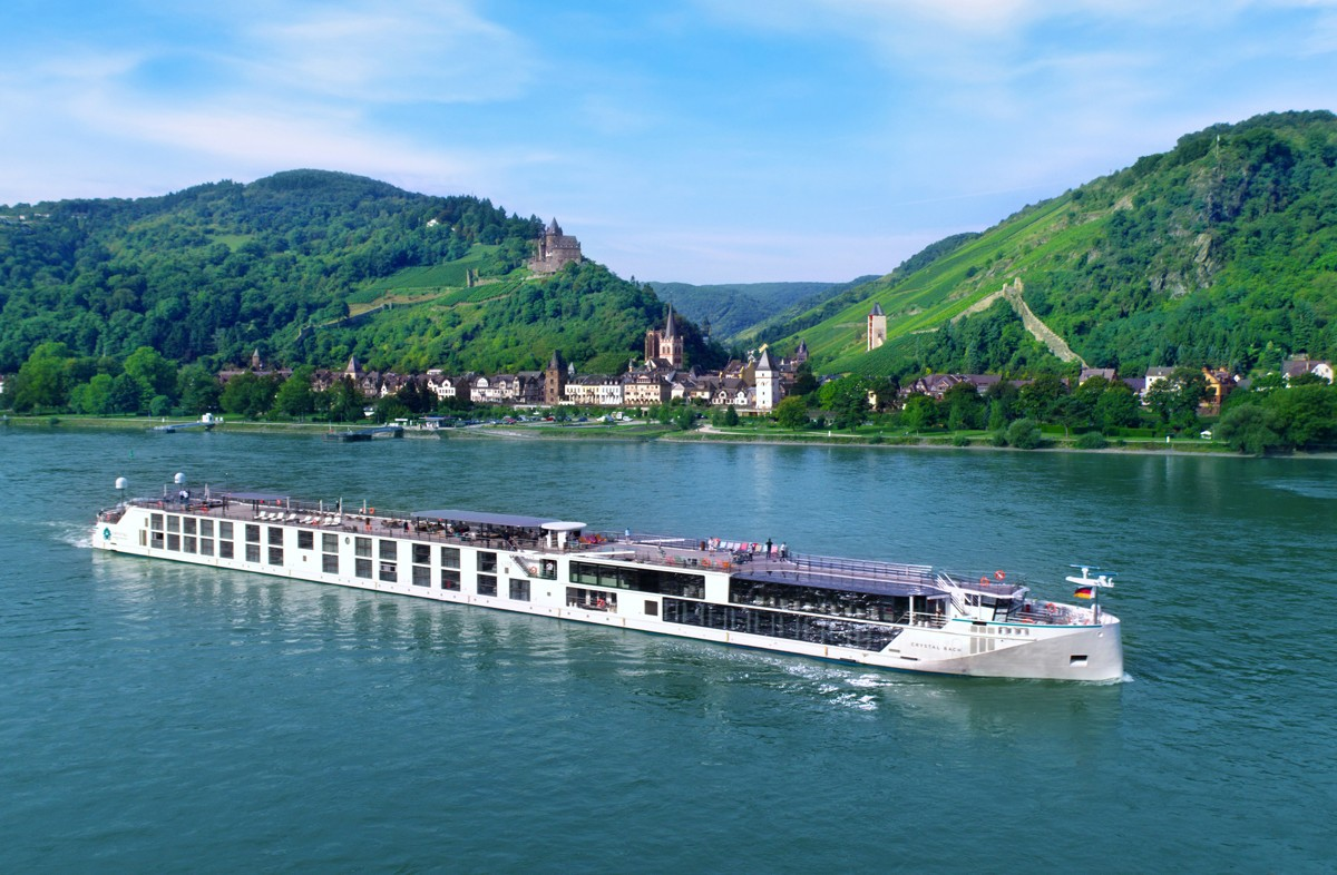 Crystal launches new ways to explore Europe's river shores