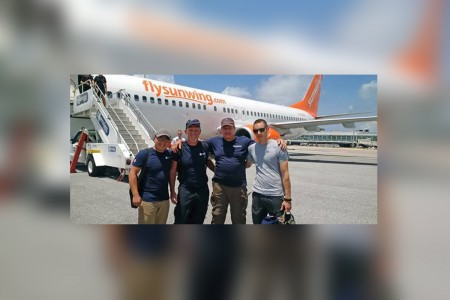 Sunwing raises more than $20K for GlobalMedic
