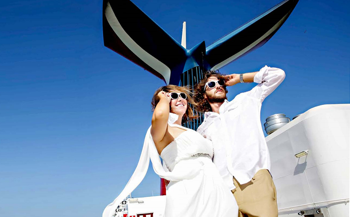 Carnival & travel agents tie the knot on wedding package commissions