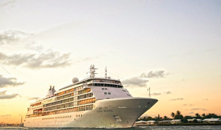 Silversea's upgraded Silver Whisper departs on 121-day voyage
