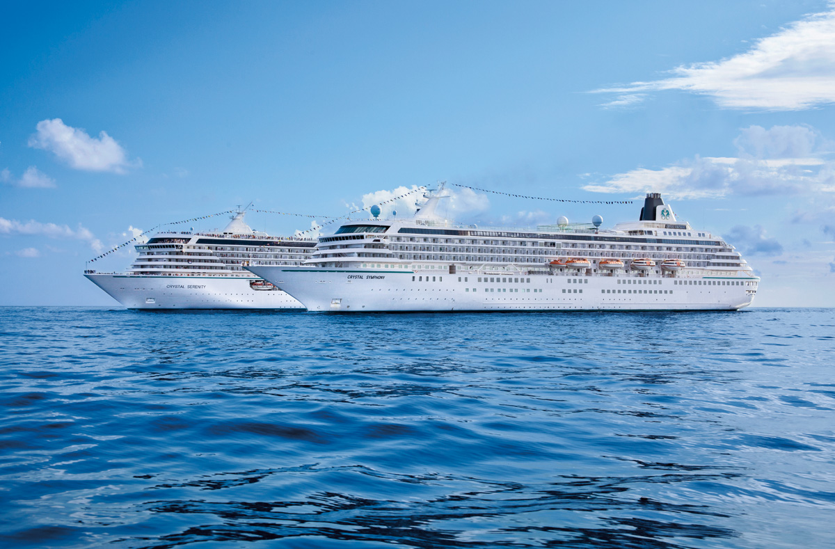 Cruise the world with Crystal's 2018-19 Worldwide Atlas