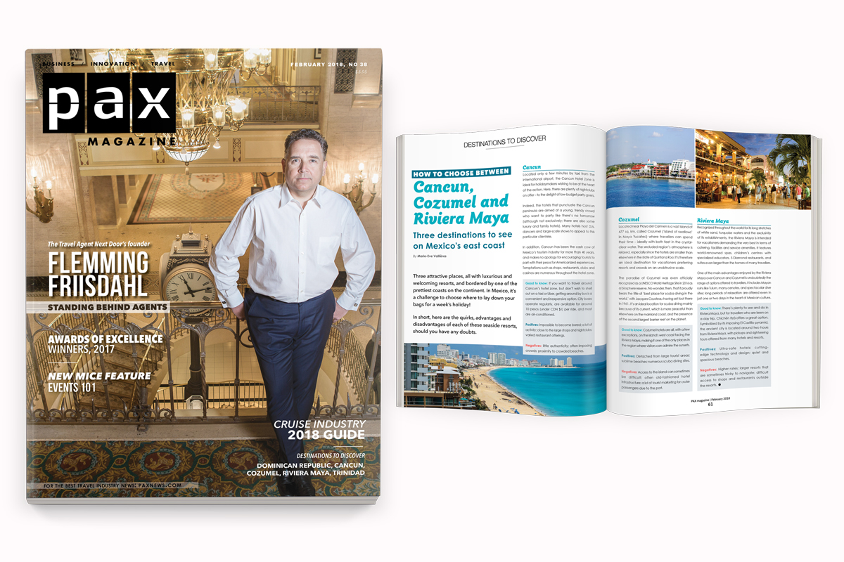 TTAND's Flemming Friisdahl, Cruise Guide 2018 and more in February's PAX!