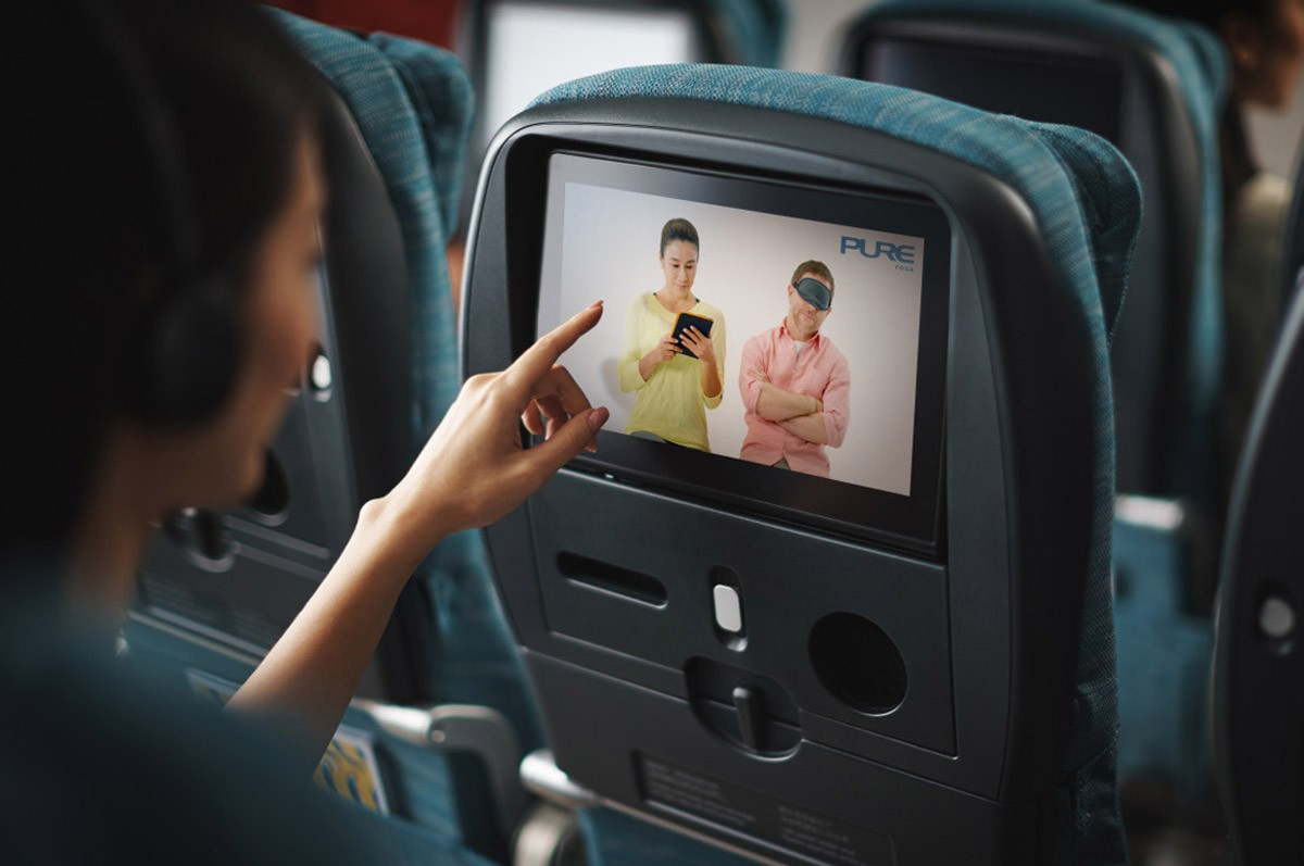 Yoga takes flight with Cathay Pacific