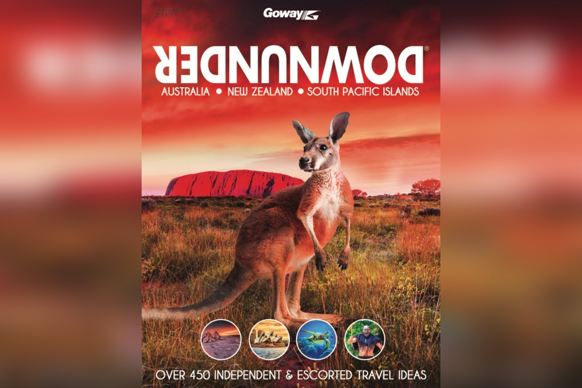 Goway's Downunder brochure is back for 2018-19
