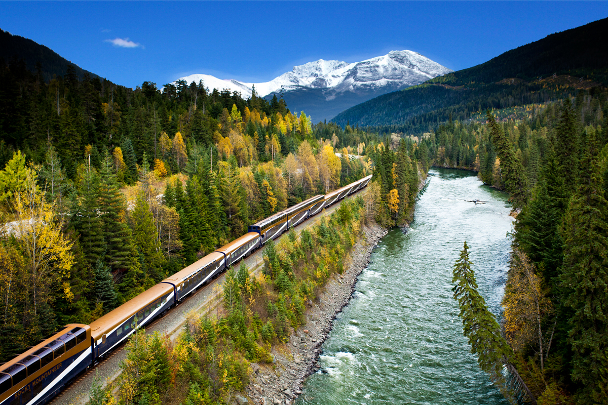 Cunard offers new Rocky Mountaineer experiences