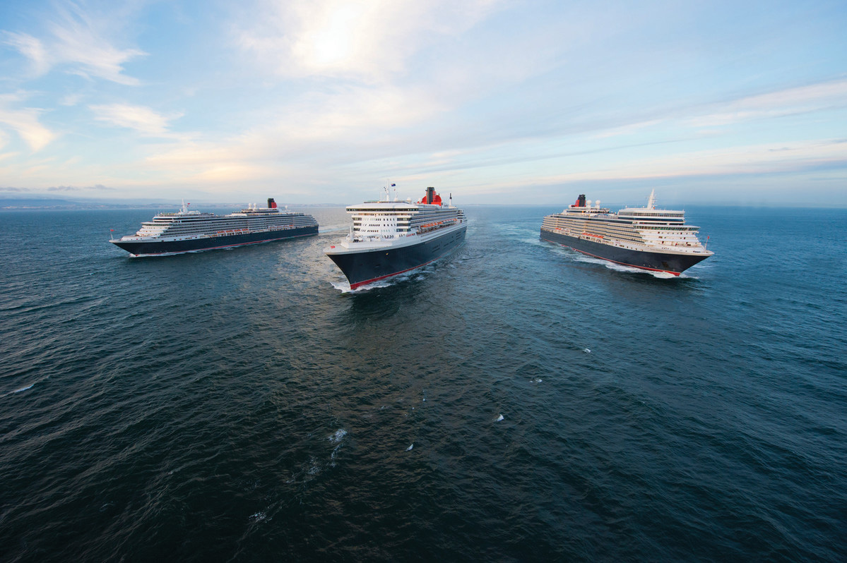 Cunard's 2019-20 program adds maiden calls in the Pacific