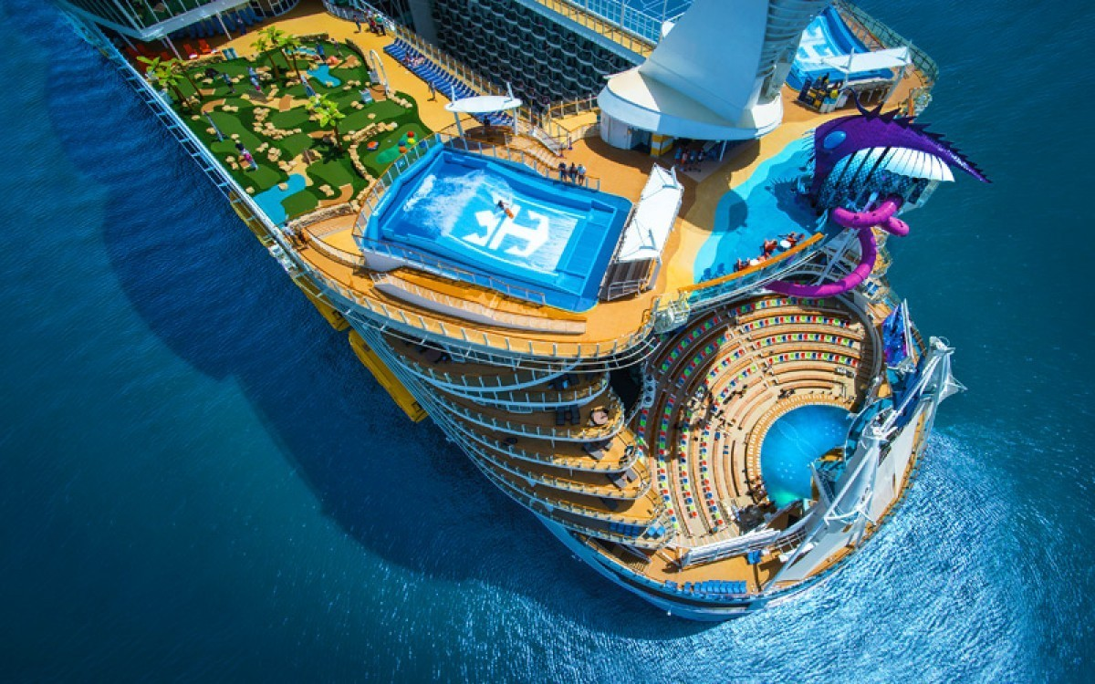 These 5 cruise ships take entertainment to the next level
