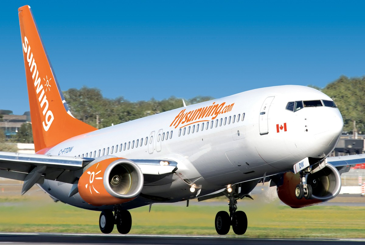 Domestic summer savings offered by Sunwing