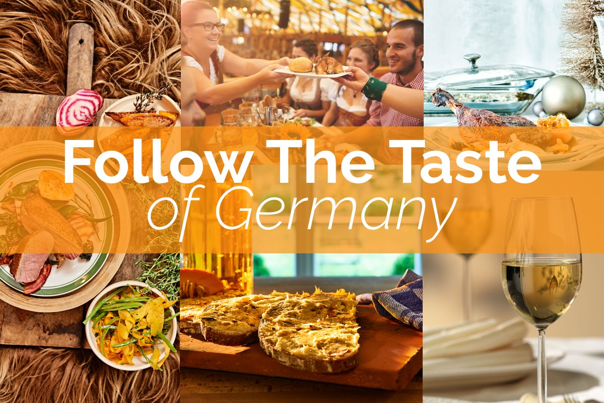 Follow the Taste in Germany