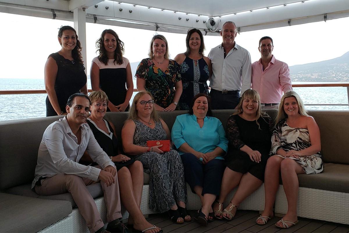 TPI's Chairman's Circle trip honours top travel advisors