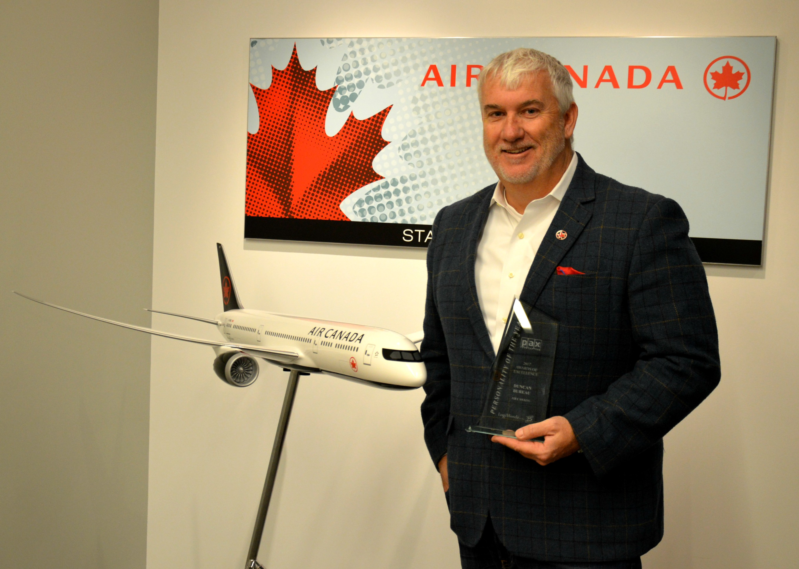 Air Canada's Duncan Bureau is Rouge's new president