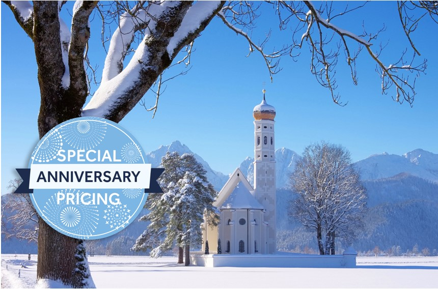Insight's special anniversary pricing now available for 2018-19 Europe journeys
