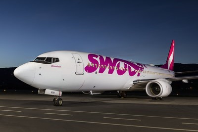 Swoop's first Boeing 737 was just delivered